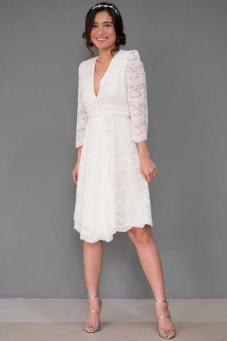 Angeline (Ivory Lace)