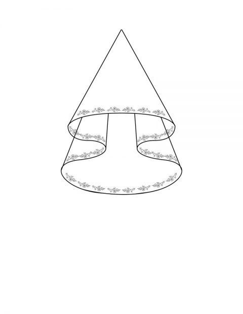 Lace Trim Veil