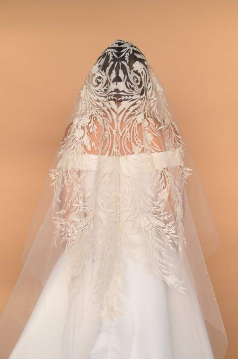 Mantilla Veil Back